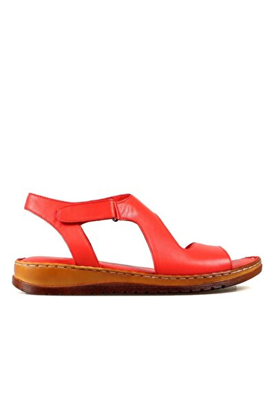 Hammer Jack Kadın Kırmızı Sandalet 204 17-z