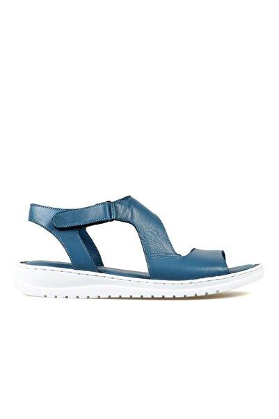 Hammer Jack Kadın Kot Mavi Sandalet 204 17-z