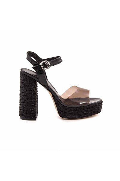 ROUGE Siyah Kadın Klasik Topuklu Ayakkabı  191Rgk595 5262
