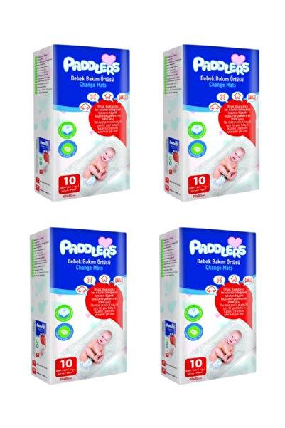 Paddlers 4x10 Adet Bebek Bakım Örtüsü (60x60 Boyutunda)