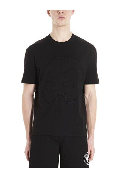 ALEXANDER MCQUEEN Bisiklat Yaka Erkek T-shirt