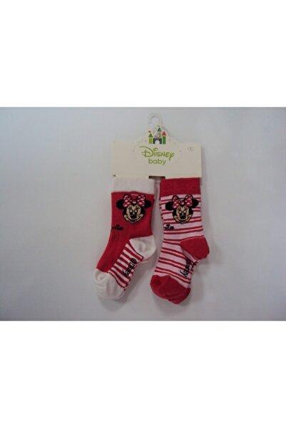 Minnie Mouse Kız Bebek Çorap