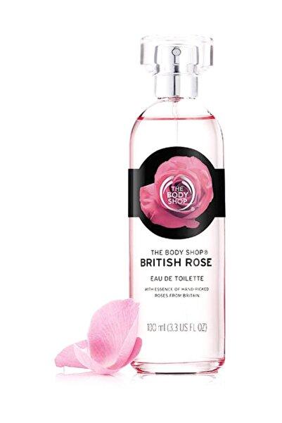 THE BODY SHOP British Rose Eau De Toilette 100 ml 5028197936730