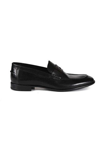 Sofia Baldi Abaco Siyah Deri Erkek Klasik Ayakkabı