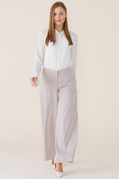 Nihan Kadın Bej Bolpaça Pantolon X4141