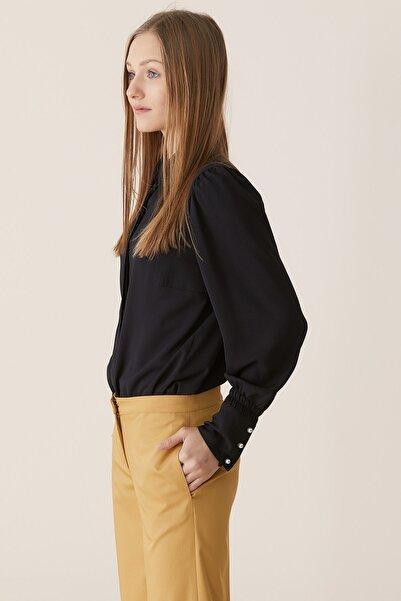 Nihan Kadın Hardal Bolpaça Pantolon X4141