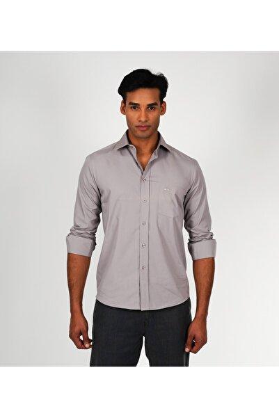 Karaca Erkek Regular Fit Klasik Gömlek Gri