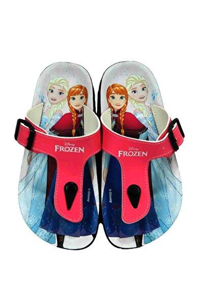 Elsa Anna Kız Çocuk Pembe Terlik