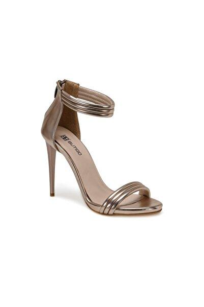 Butigo Kadın Rose Gold Topuklu Sandalet Ayakkabı 20s-119