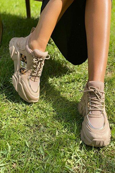 Nude Kadın Sneaker Y1105