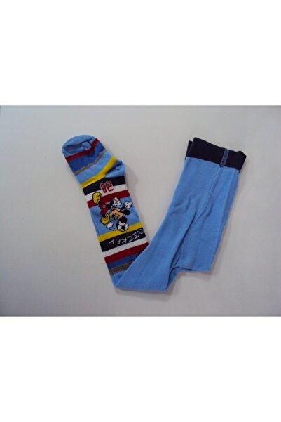 Mickey Mouse Erkek Çocuk Külotlu Çorap
