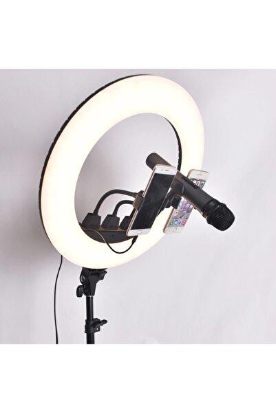 Gringo 18 Inç Telefon Ve Mikrofon Tutucu 480 Led Makyaj Ve Youtuber Işığı
