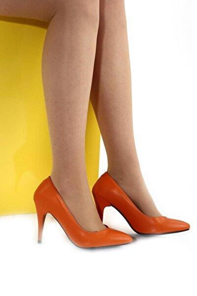 Hepfit Turuncu Kadın Topuklu Ayakkabı 1943-72-1604