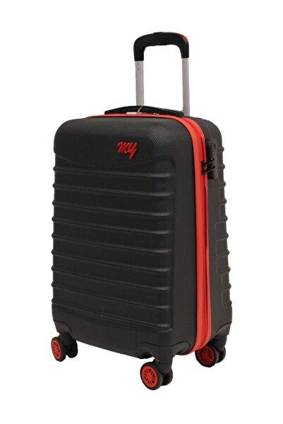 MY SARACİYE Valiz Orta Boy Abs Polikarbon Valiz, Bavul