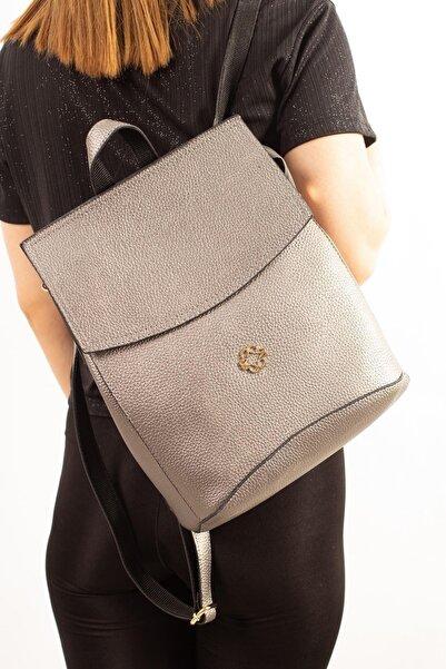 Limoya Bags Adeo Gümüş Kadın Sırt Çantası