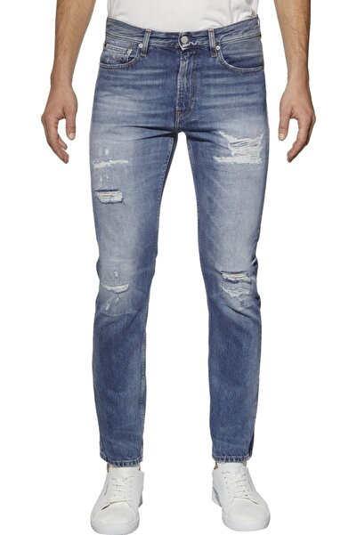 Calvin Klein Erkek Mavi Jean Pantolon J30j307631