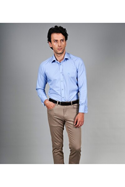 Karaca Erkek Regular Fit Seremoni Gömlek K Mavi