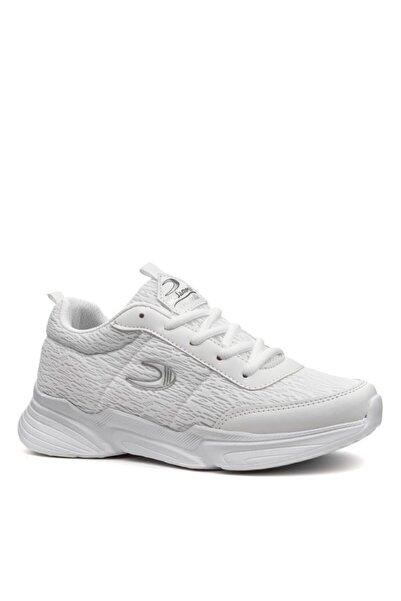 Marco Jamper Kadın Spor Ayakkabı Beyaz Günlük