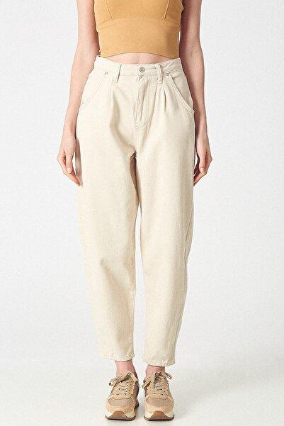 Robin Kadın D83376-pantolon Bej