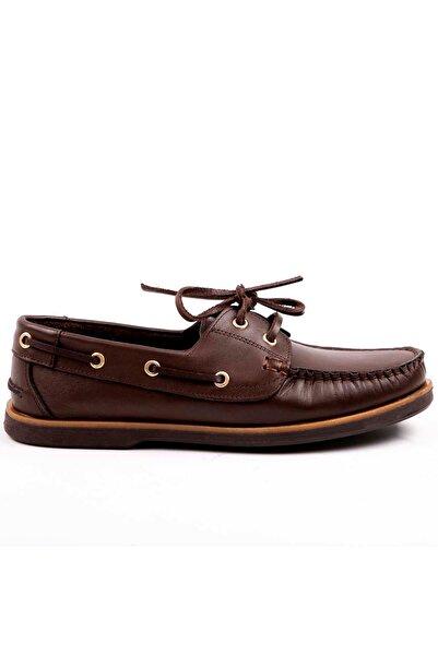 MPP Hakiki Deri Loafer Erkek Ayakkabı Trs3001 Kahverengi