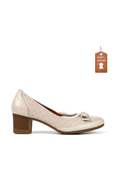 Hammer Jack Bej Kadın Klasik Topuklu Ayakkabı 538 642-Z-147