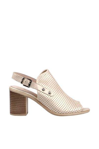 Hammer Jack Bej Kadın Klasik Topuklu Ayakkabı 309 52-Z-147