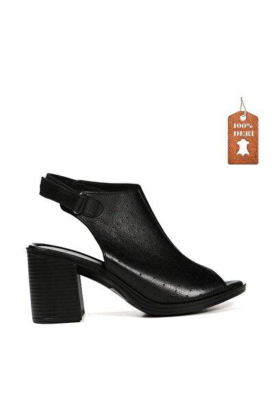 Hammer Jack Siyah Kadın Terlik / Sandalet 542 1629-Z