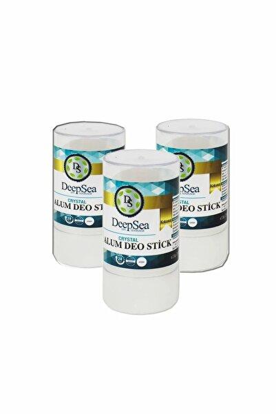 DeepSEA Kristal Doğal Tuz Içeren Roll-on 120 G Deodorant - 3 Adet