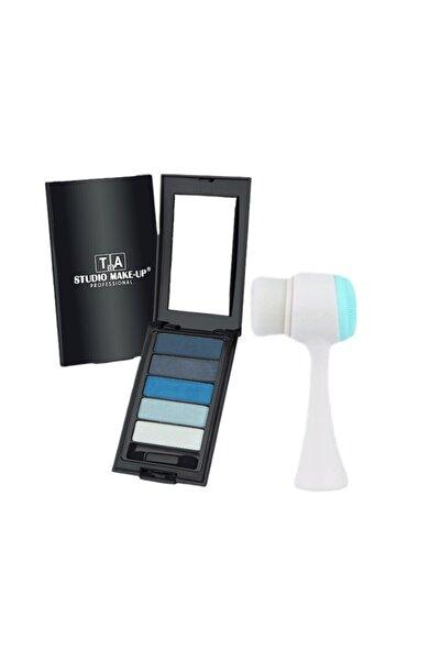 Ocean Yüz Temizleme Fırçası + Tca 5'li Make Up Far Paleti