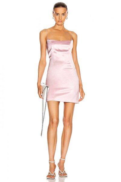 By Umut Design Ip Askılı Chanel Saten Elbise