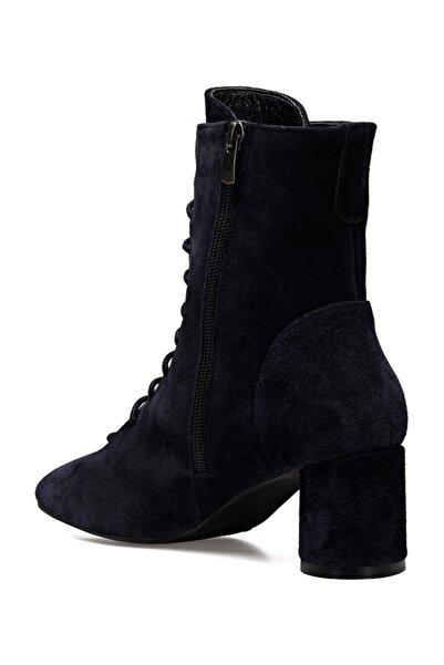 Nine West LACESS Lacivert Kadın Ökçeli Ayakkabı