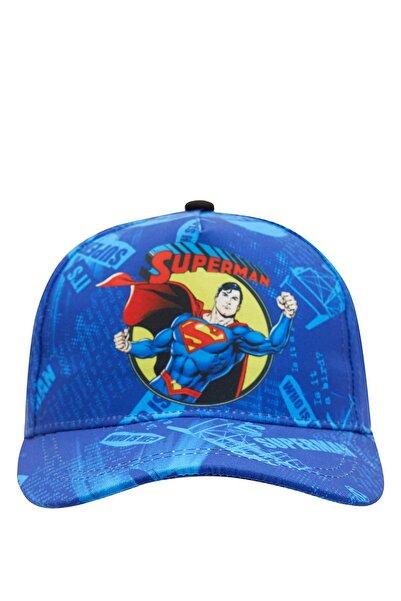 DeFacto Erkek Çocuk Superman Baskılı Şapka