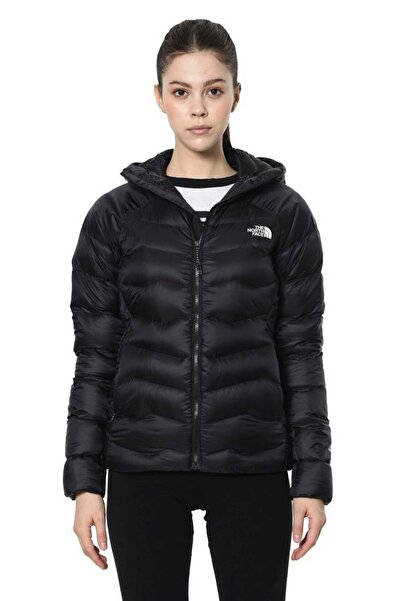 THE NORTH FACE Impendor Down Hoodie Kadın Mont Siyah