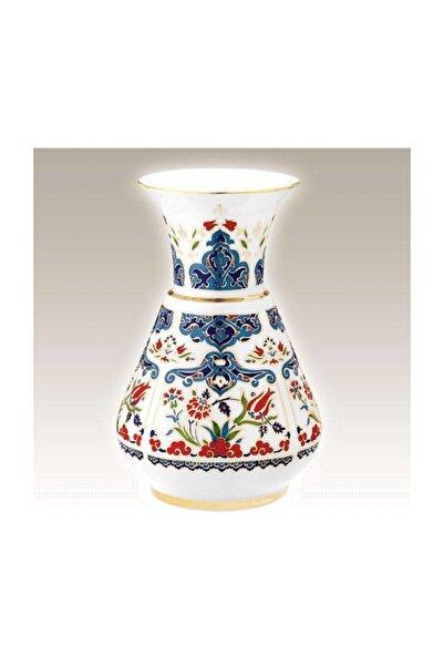 Kütahya Porselen El Dekoru Kandil 20 cm Vazo Dekor No 01415