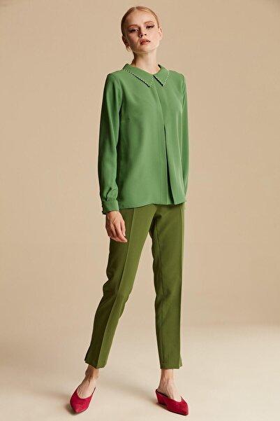 Tuğba Kadın Bnt. Yeşil Bluz U6900
