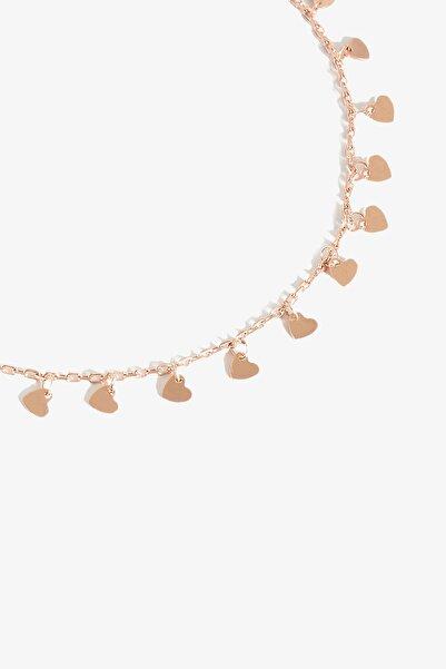 Kalp Rose Gold Halhal