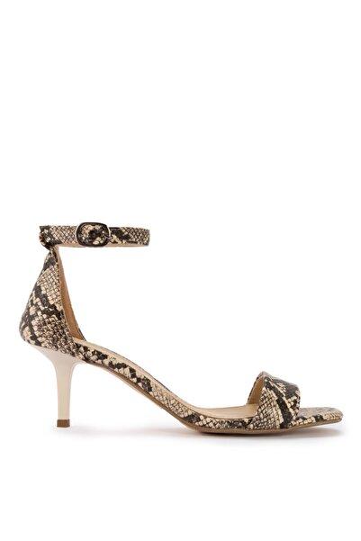 Sole Sisters Topuklu Sandalet Yılan - Kakıdony