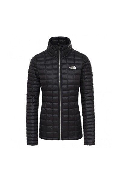 THE NORTH FACE Thermoball Fullzip Kadın Outdoor Mont Siyah