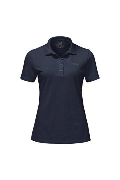 Jack Wolfskin Pique Polo Kadın T-Shirt - 1805701-1010