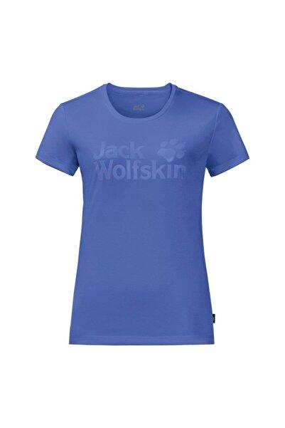 Jack Wolfskin Rock Chill Logo Kadın T-Shirt - 1805541-1098