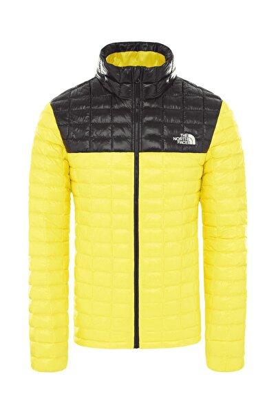 Thermoball Eco Erkek Outdoor Mont Sarı-Siyah