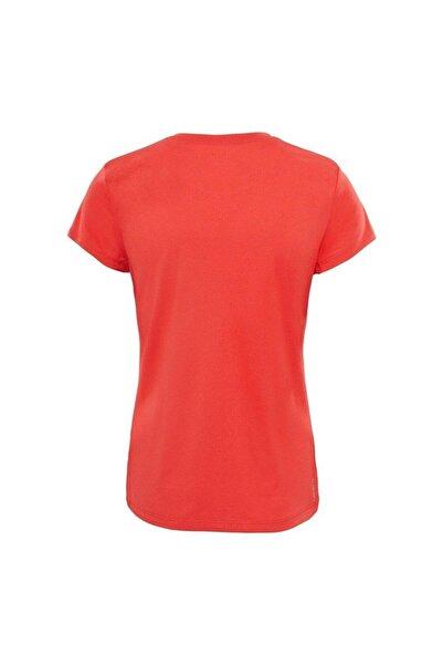 W Reaxion AMP Crew Kadın T-Shirt Kırmızı
