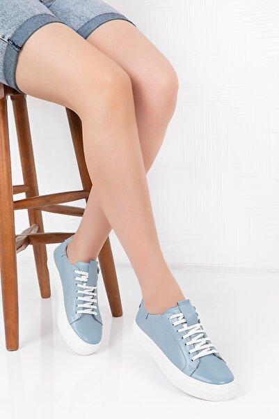 Gondol Hakiki Deri Anatomik Taban Spor Ayakkabı