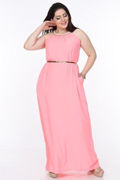 Moday Yazlık Uzun Elbise 12d-0999