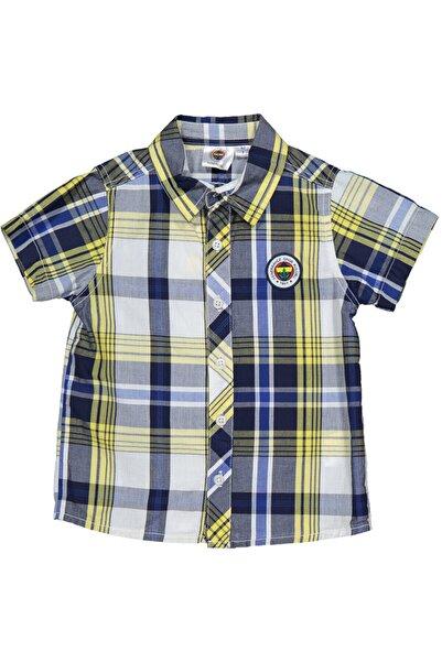 Fenerbahçe Lisanslı Erkek Çocuk Gömlek