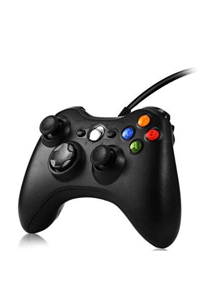 MICROSOFT Xbox 360 Kablolu Oyun Kolu (pc Ve Xbox 360 Uyumlu) - Siyah