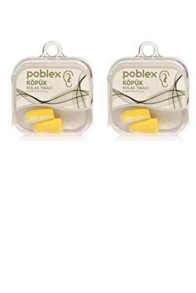 Poblex Köpük Kulak Tıkacı - Kulak Koruyucu Tıpası 2 adet