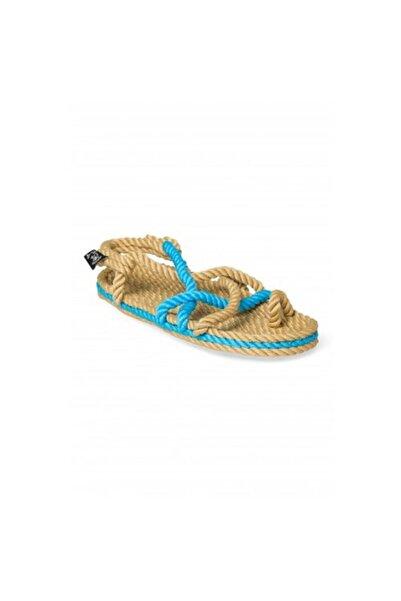 Nomadic State Of Mind Kadın Mavi Hasır Ip Sandalet