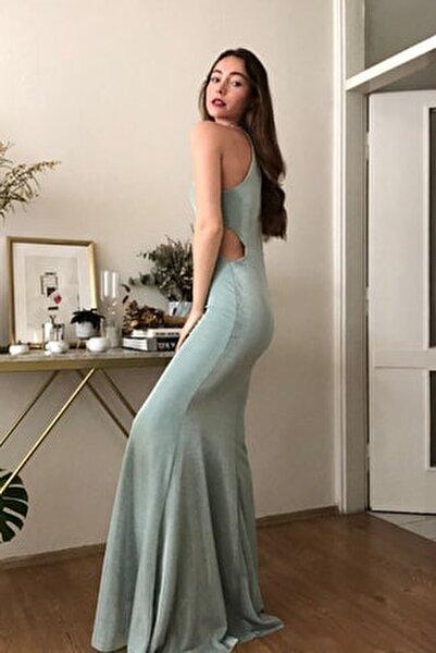 Mint Işıltılı Abiye & Mezuniyet Elbisesi TPRSS20AE0152
