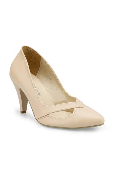 Polaris 315193.Z Bej Kadın Topuklu Ayakkabı 100507309